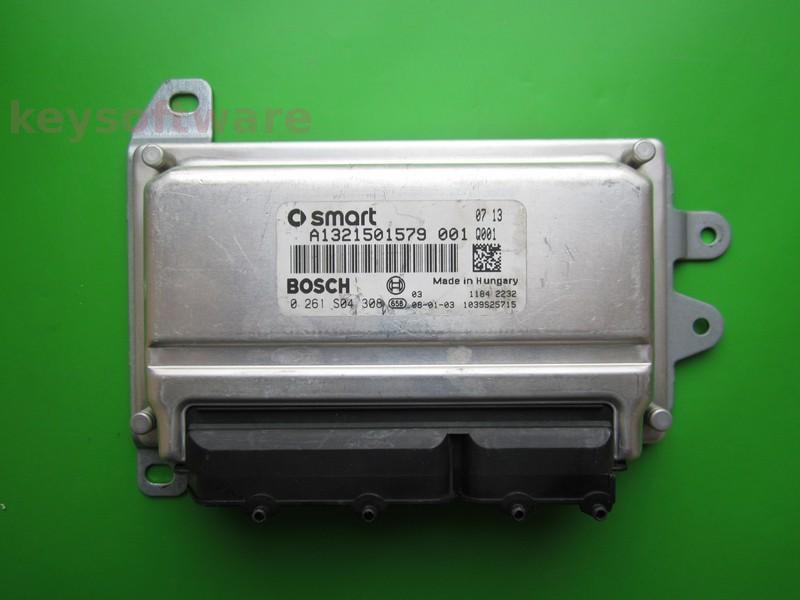 ECU Smart Fortwo 1.0 0261S04308 ME7-70