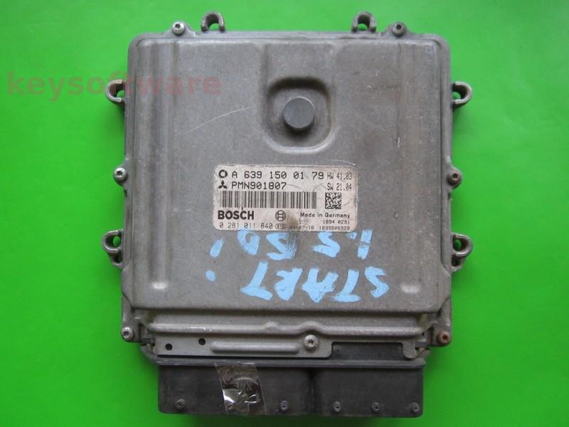 ECU Smart Forfour 1.5CDI A6391500179 0281011840 EDG16C33 {