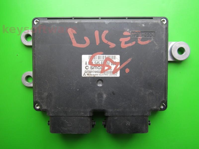 ECU Smart Fortwo 0.8 A0015456916 ^ +