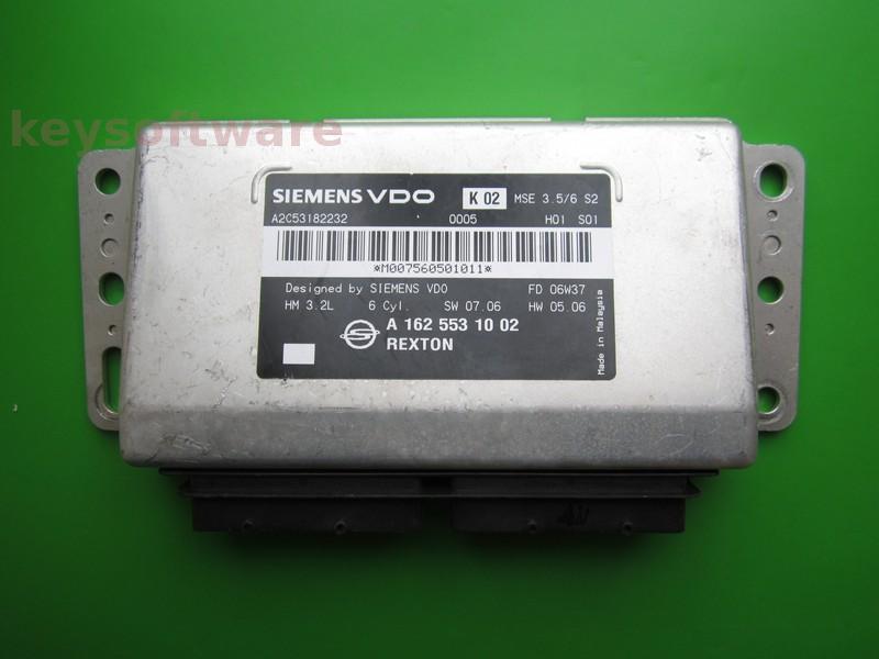 ECU Ssangyong Rexton 3.2 A1625531002
