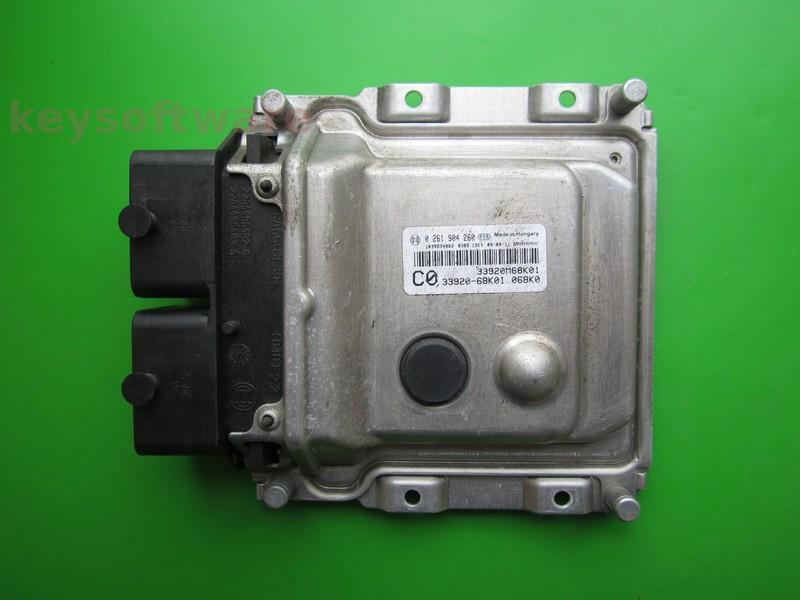ECU Suzuki Alto 1.0 33920-68K01 0261S04260 ME17.9.5
