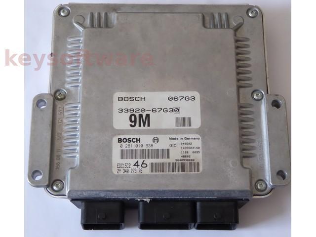 ECU Suzuki Grand Vitara 2.0HDI 0281010936 EDC15C2 {+