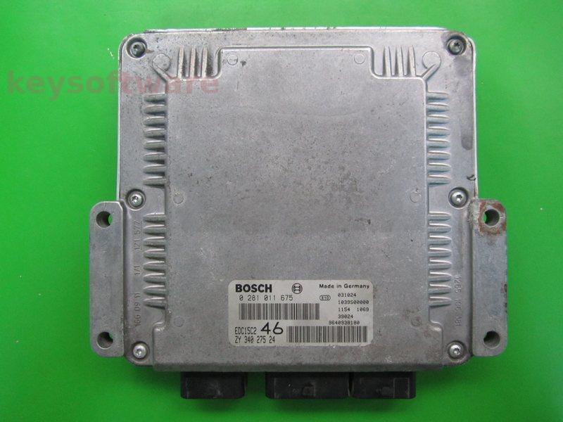 ECU Suzuki Grand Vitara 2.0HDI 0281011675 EDC15C2 {+