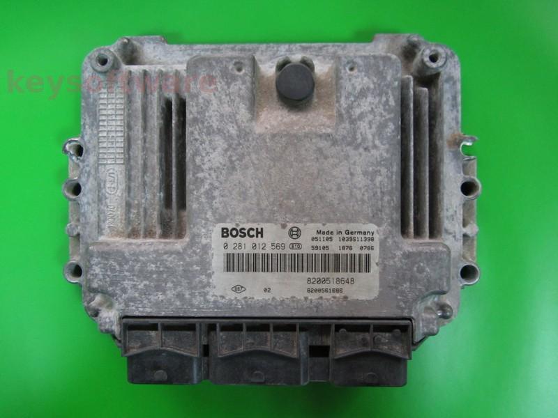 ECU Suzuki Grand Vitara 1.9DDI 0281012569 EDC16C3 { +
