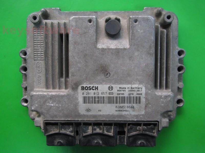 ECU Suzuki Grand Vitara 1.9DDI 0281012657 EDC16C3 {+