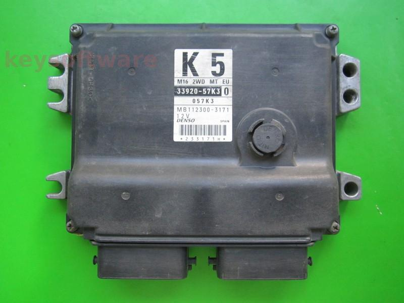 ECU Suzuki Swift 1.6 33920-57K3 MB112300-3171