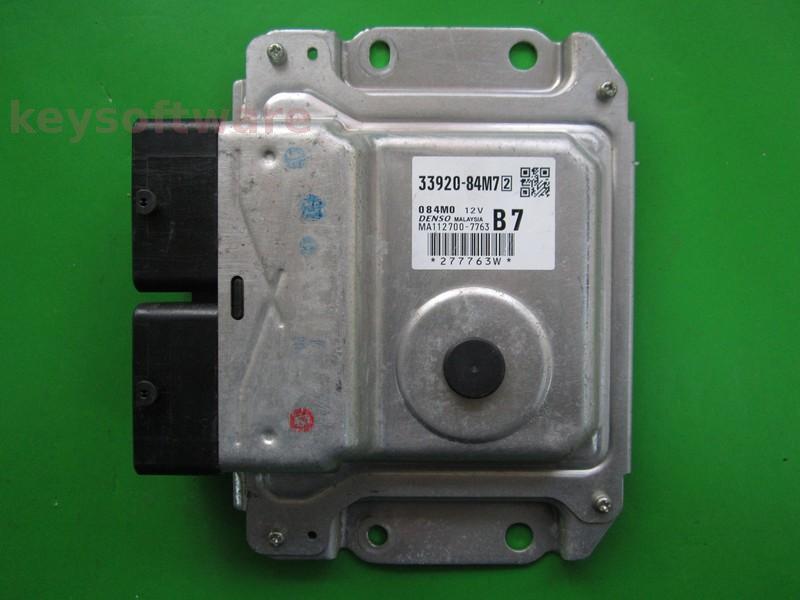 ECU Suzuki Celerio 1.0 33920-84M7 MA112700-7763 B7