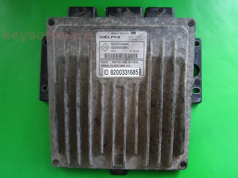 ECU Suzuki Jimny 1.5DCI 8200450861 81132B DDCR {