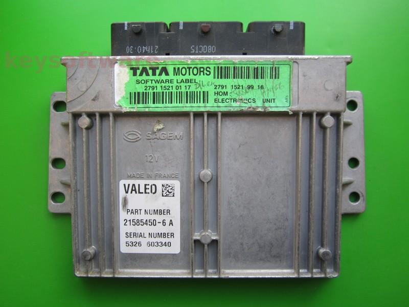 ECU Tata Indica 1.4 21585450-6A S2000
