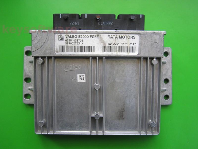 ECU Tata Indica 1.4 SW279115210117 S2000 FC5E