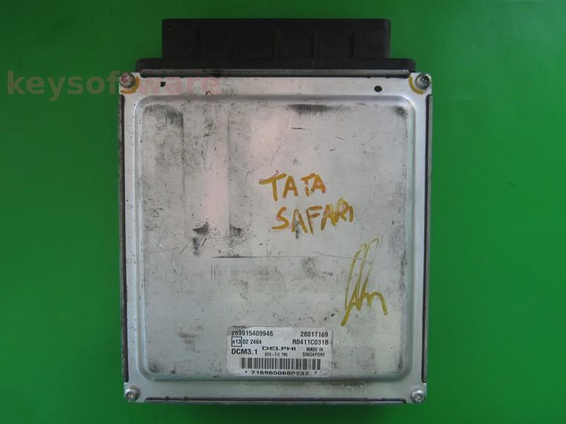 ECU Tata Safari 3.0 28017169 R0411C031B DCM3.1