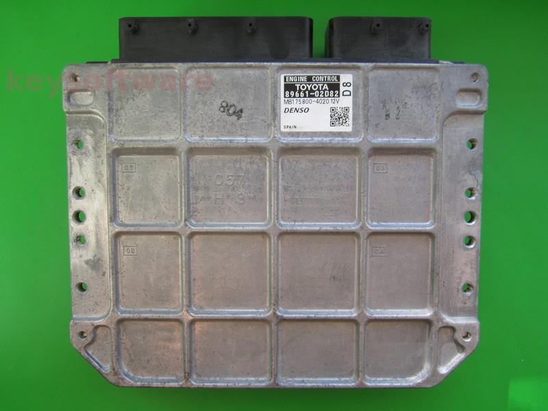 ECU Toyota Auris 2.0D4D 89661-02D82 MB175800-4020