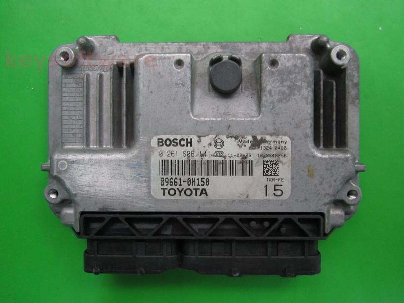 ECU Toyota Aygo 1.0 89661-0H150 0261S06141 ME17.9.52