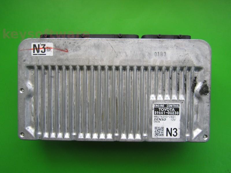 ECU Toyota Yaris 1.5 Hybrid 89661-0U230 DENSO