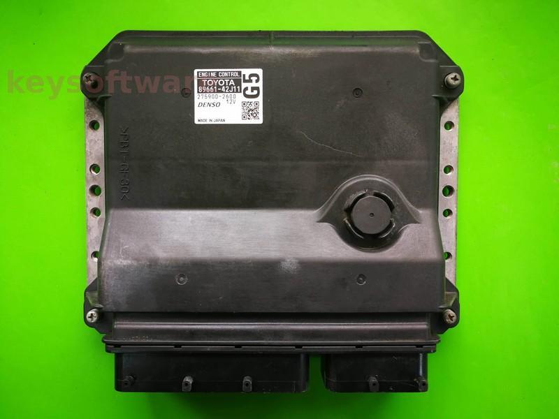 ECU Toyota RAV4 2.2D4D 89661-42J11 275900-2600