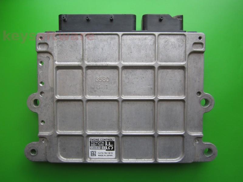 ECU Toyota 1.0 89661-74390 5F^