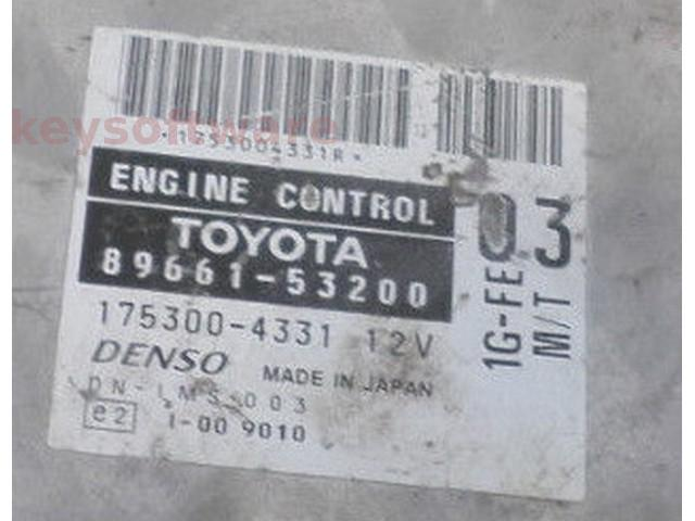 ECU Lexus IS200 2.0 89661-53200 175300-4331 {