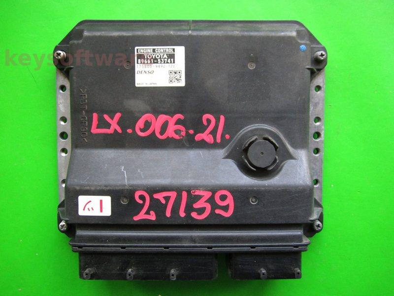 ECU Lexus IS220 2.2 89661-53741 175800-9490 {