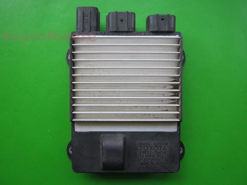 ECU Toyota Hilux 2.0D 89871-25010 driver injectie