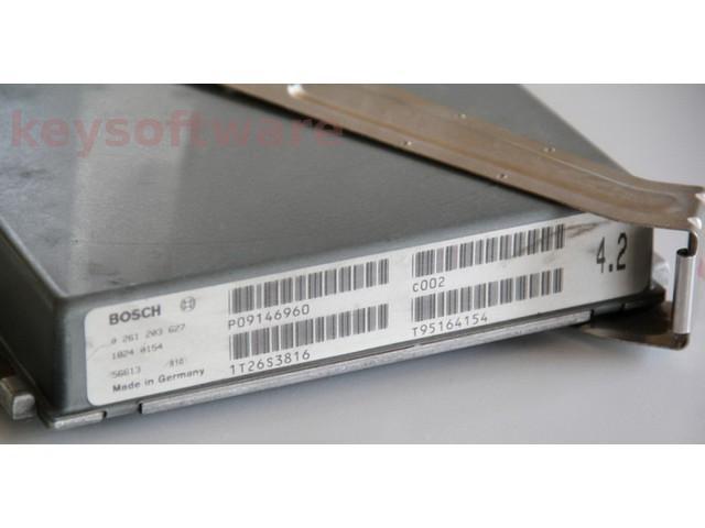 ECU Volvo 850 2.3 P09146960 0261203627 M4.3 {