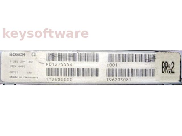 ECU Volvo 850 2.0 P01275554 0261204189 M4.3 {