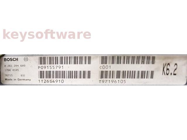 ECU Volvo 850 2.5 P09155791 0261204609 M4.4.1 {