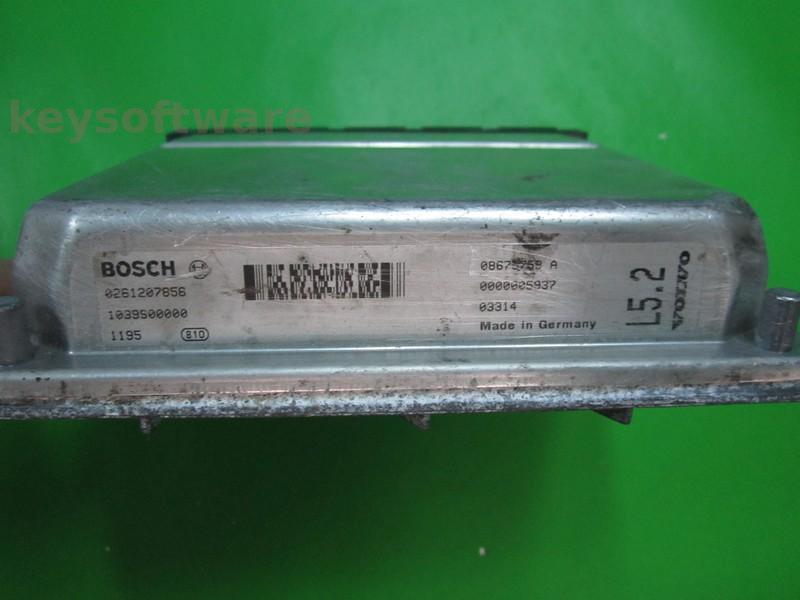 ECU Volvo V70 2.3 08675759A 0261207856 ME7.0.1 {