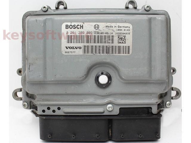 ECU Volvo S40 2.5 0261209009 ME9.0 {