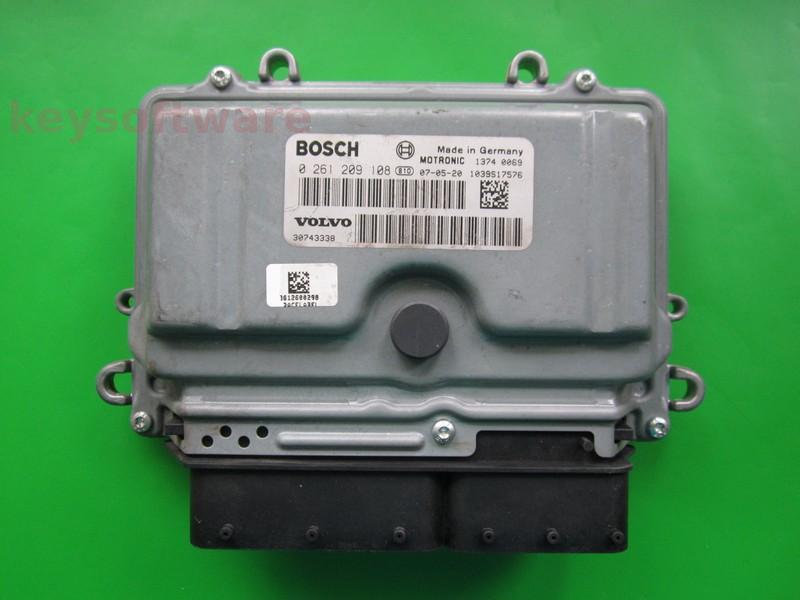 ECU Volvo S40 2.5 0261209108 ME9.0