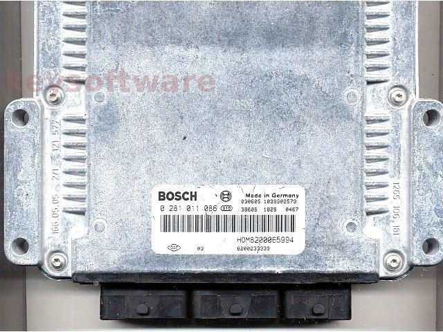 ECU Volvo S40 1.9DCI 8200233339 0281011086 EDC15C3 {+