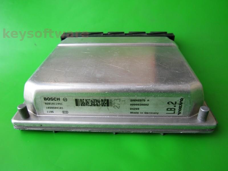 ECU Volvo XC90 2.4D 30646978A 0281011441 EDC15C11