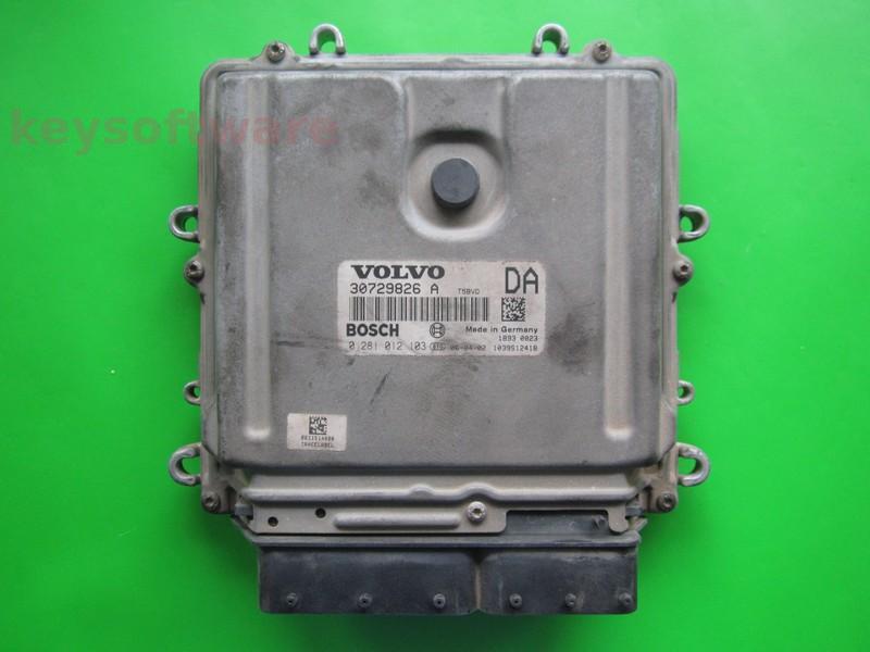 ECU Volvo XC90 2.4D5 0281012103 EDC16C31 +