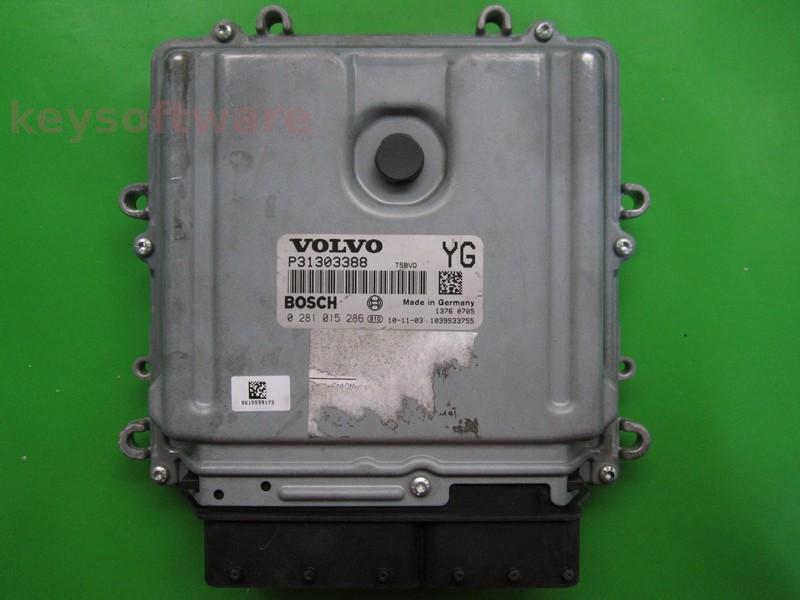 ECU Volvo XC70 2.4D P31303388 0281015286 EDC17CP22 {