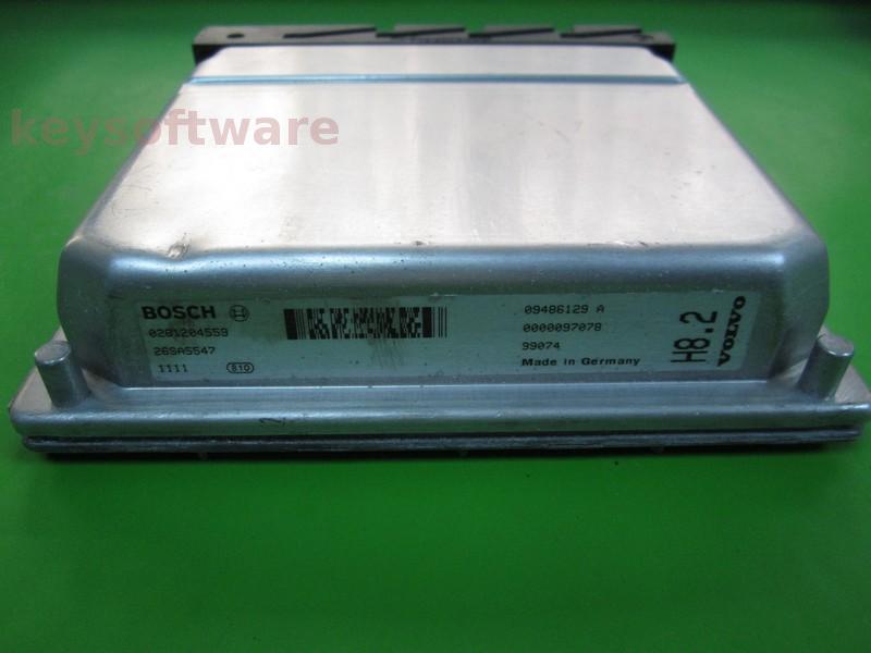 ECU Volvo S80 2.9 09486129A 0261204559 ME7.0