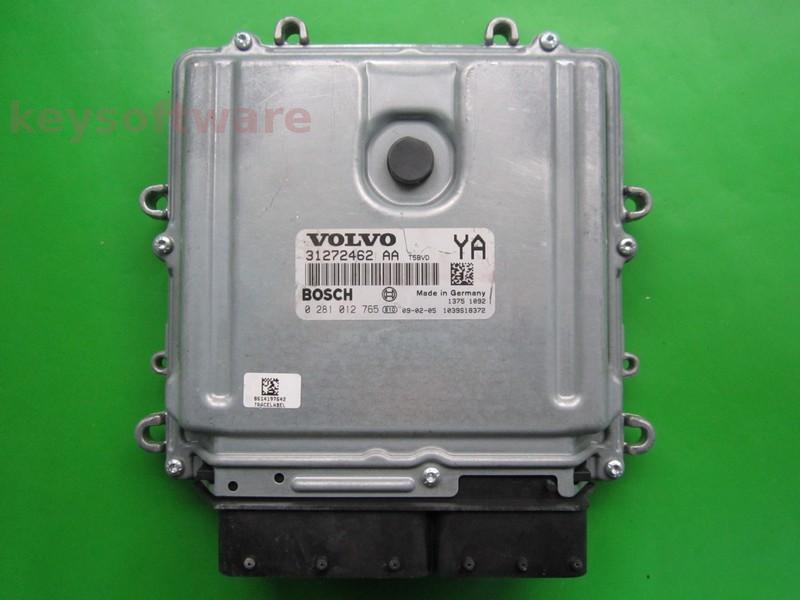 ECU Volvo XC60 2.4D 31272462AA 0281012765 EDC16C31