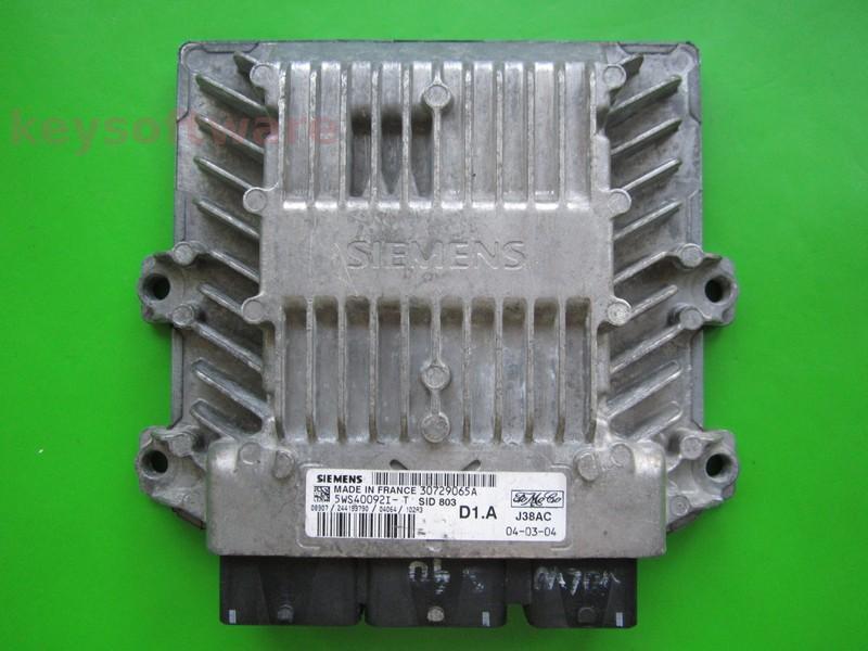 ECU Volvo V50 2.0DCI 5WS40092I-T SID803 }