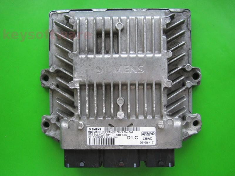ECU Volvo V40 2.0DCI 5WS40212H-T SID803 {+