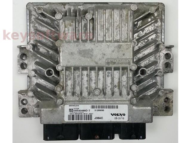 ECU Volvo V40 2.0DCI 5WS40489D-T SID206 {