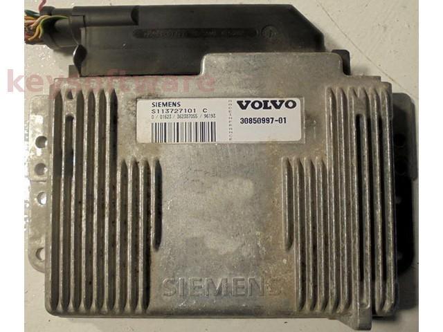 ECU Volvo S40 2.0 30850997 S113727101C Fenix5 {
