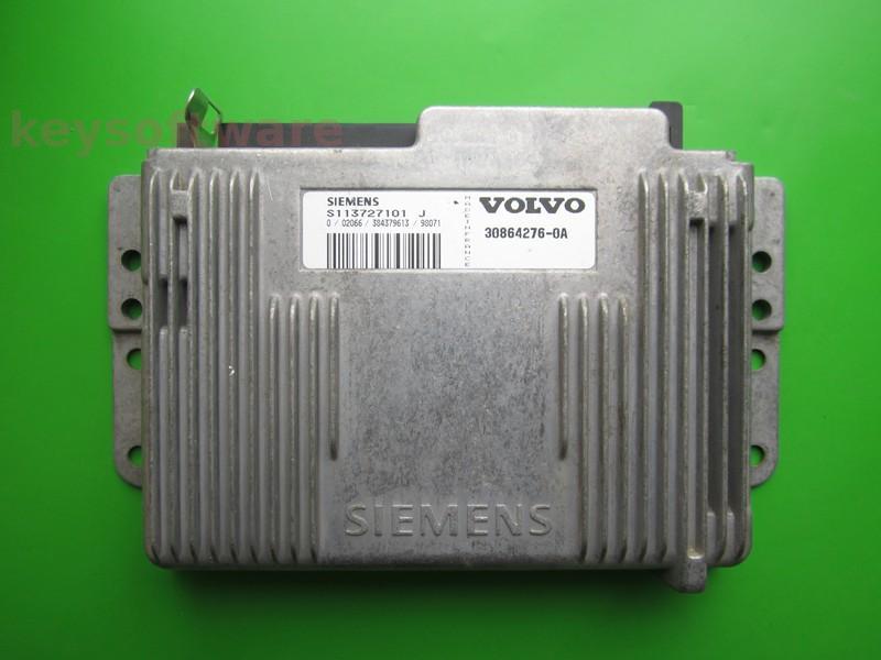ECU Volvo S40 2.0 30864276 S113727101J Fenix5