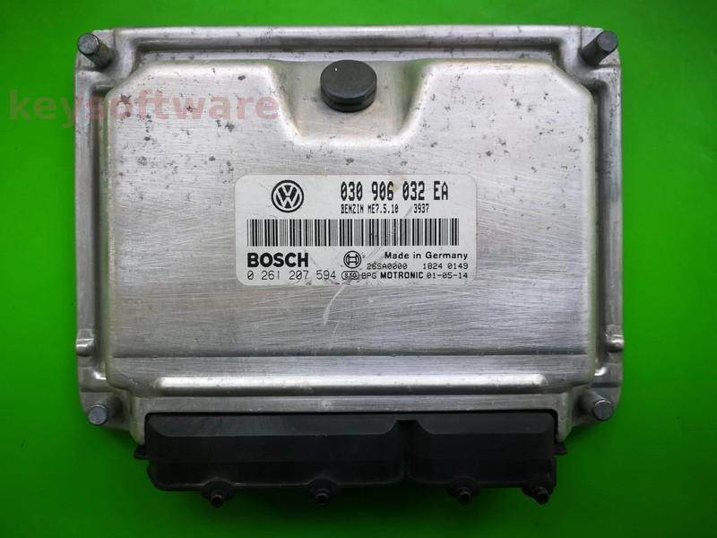 ECU VW Polo 1.4 030906032EA 0261207594 ME7.5.10