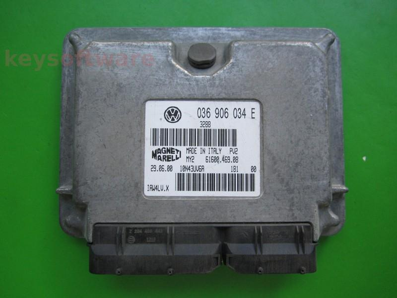 ECU VW Polo 1.4 036906034E IAW 4LV.X