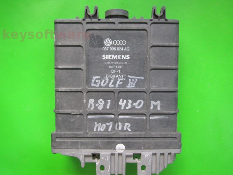 ECU VW Golf3 2.0 037906024AG 5WP4151 SME-N