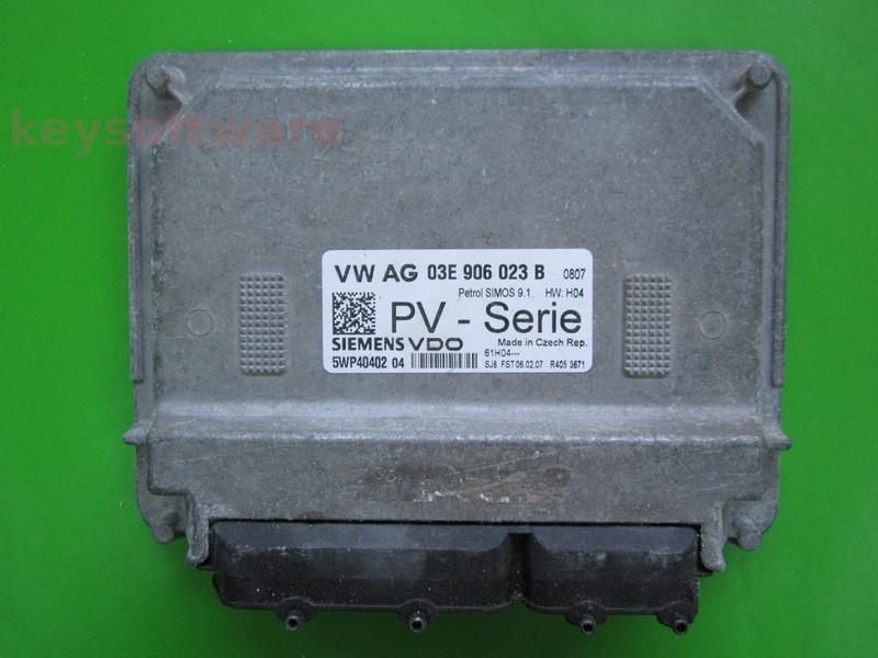 ECU VW Polo 1.2 03E906023B 5WP40402 SIMOS 9.1 BZG