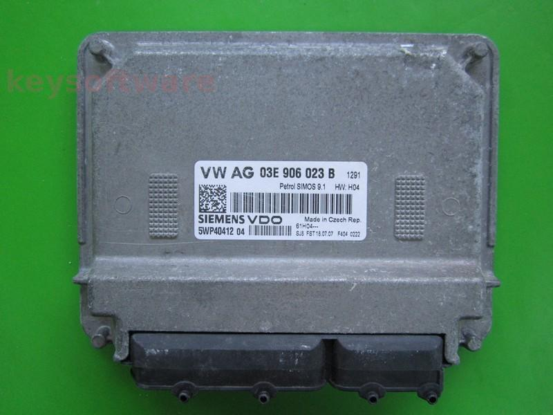 ECU VW Polo 1.2 03E906023B 5WP40412 SIMOS 9.1 BZG
