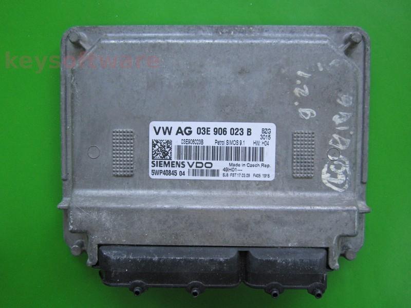 ECU VW Polo 1.2 03E906023B 5WP40845 SIMOS 9.1 BZG