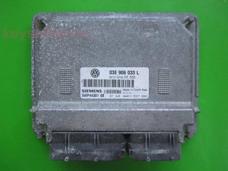 ECU VW Polo 1.2 03E906033L 5WP44301 SIMOS 3PE AZQ