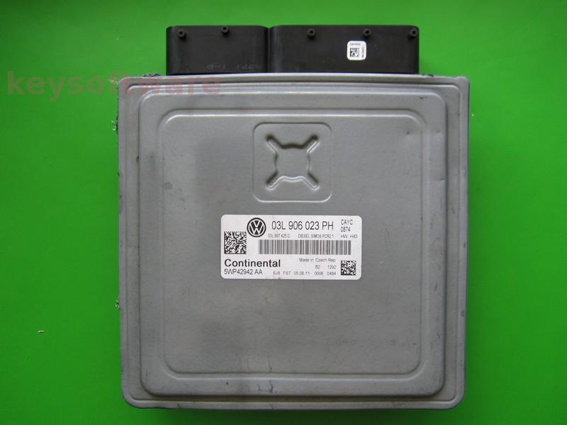 ECU VW Touran 1.6TDI 03L906023PH SIMOS PCR2.1 CAYC