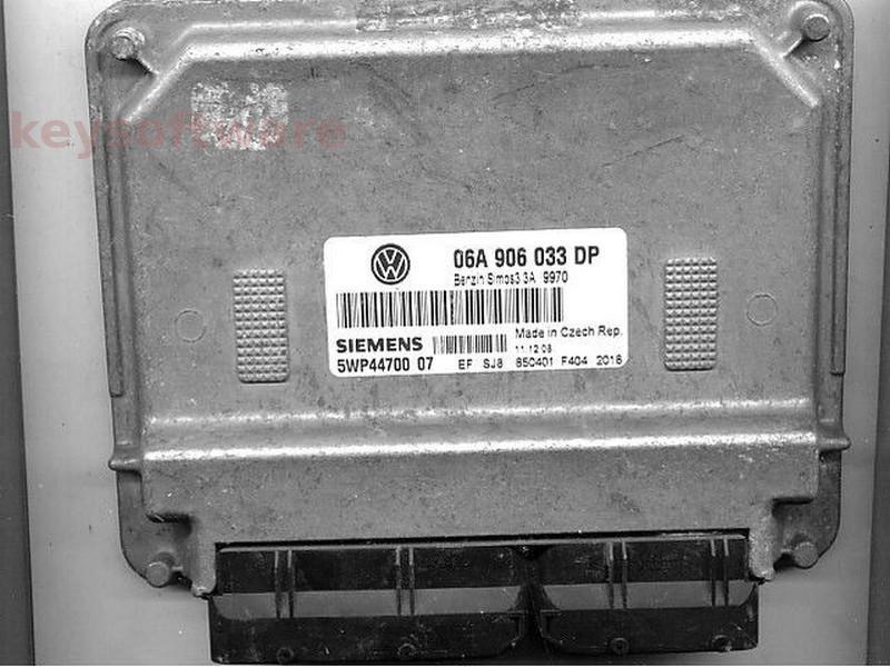 ECU VW Beetle 1.6 5WP44700 06A906033DP SIMOS 3.3A BFS {