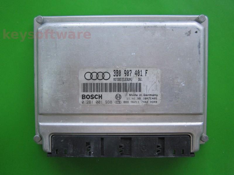 ECU VW Passat 2.5TDI 3B0907401F 0281001938 EDC15M AFB